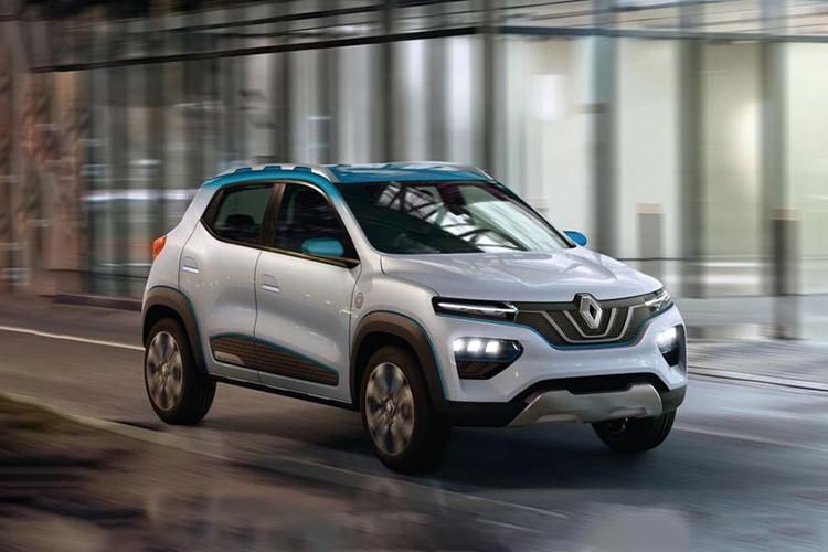 Renault City K-ZE totalmente electrico