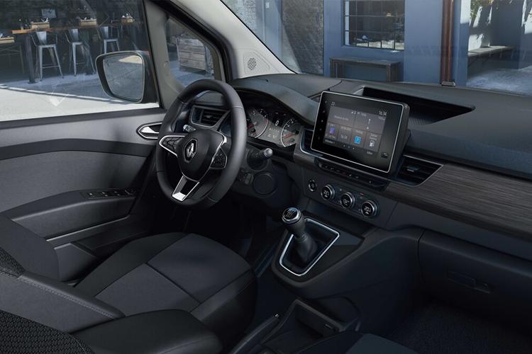 Renault Kangoo 2021 sistema de infoentretenimiento