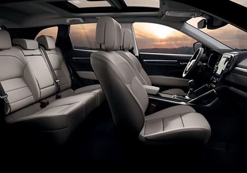 Renault Koleos 2020 asientos y tecnologia disponible