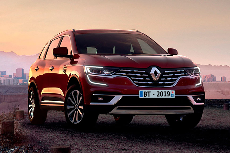 Renault Koleos 2020 con motor 2.0 L y traccion integral con opcion variable