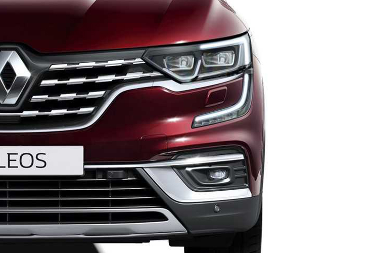 Renault Koleos 2020 con nueva parrilla