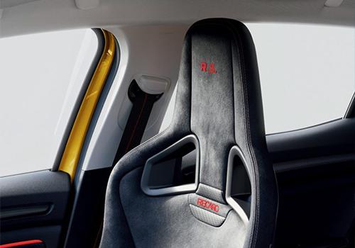 Renault Mégane RS asientos