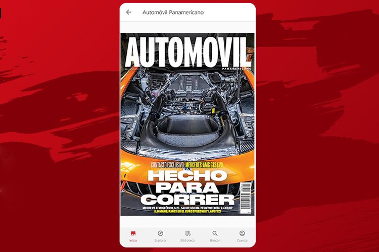 Revista Automóvil Panamericano aplicación móvil