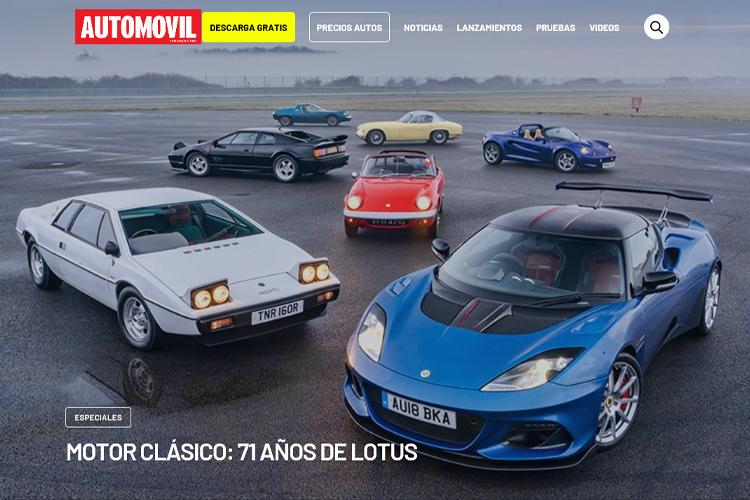 Revista Automóvil Panamericano en línea