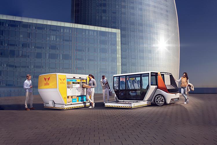 Rinspeed Metrosnap carrocería intercambiable