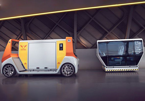 Rinspeed Metrosnap concept car