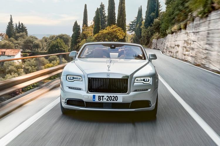 Rolls-Royce Dawn Silver Bullet Edition edición especial