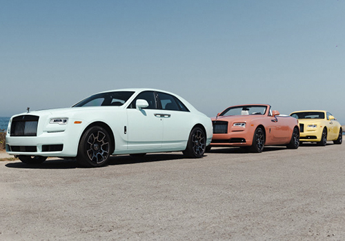 Rolls-Royce Pebble Beach Collection primeros 3 vehiculos