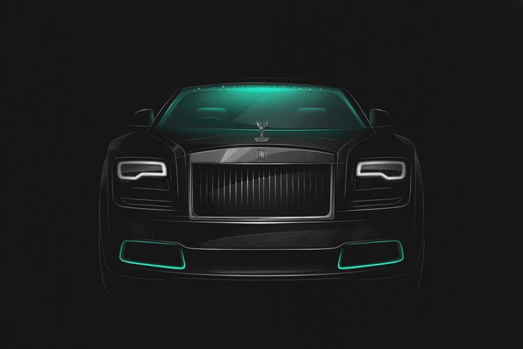 Rolls-Royce Wraith Collection edición especial carrocería