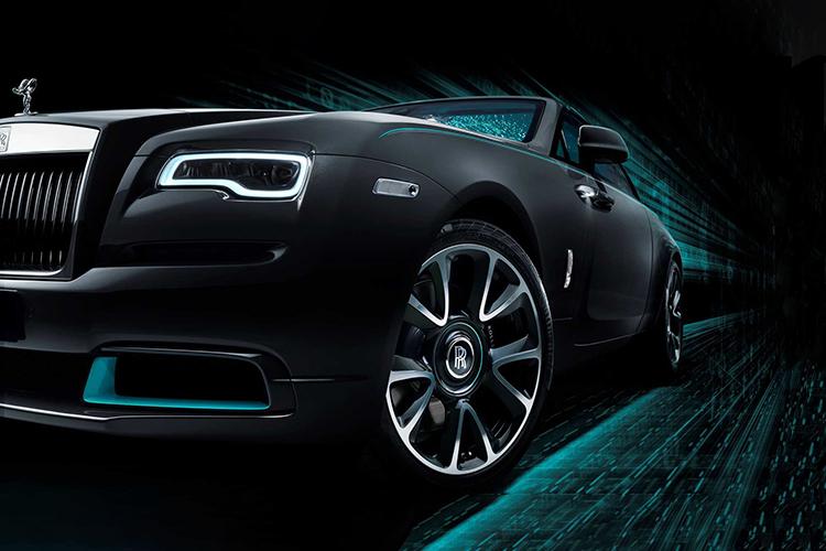 Rolls-Royce Wraith Collection edición especial con mensajes encriptados