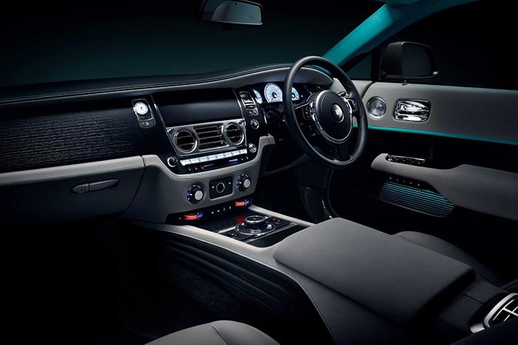 Rolls-Royce Wraith Collection edición especial diseño interior