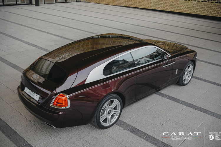 Rolls-Royce Wraith Shooting Brake one-off diseño