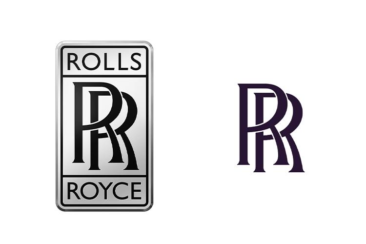 Rolls-Royce cambia la identidad de marca logo RR