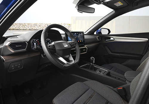Seat León 2021 pantalla de 10 pulgas