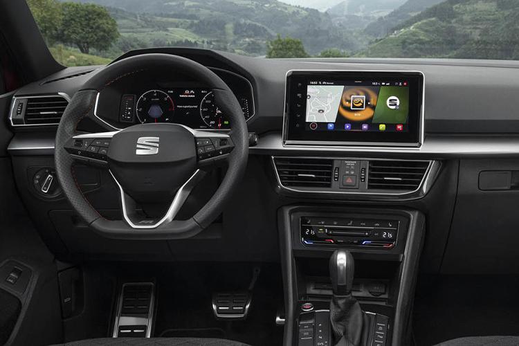 Seat Tarraco estrena nueva variante de gasolina sistema de infoentretenimiento