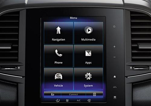 Sistema de infoentretenimiento compatible con Apple CarPlay y Android Auto Renault Koleos 2020