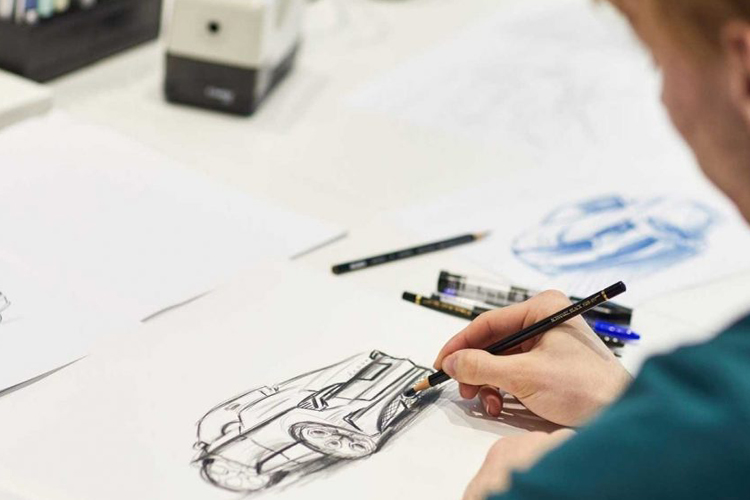 Skoda Scala Spyder concept car diseños