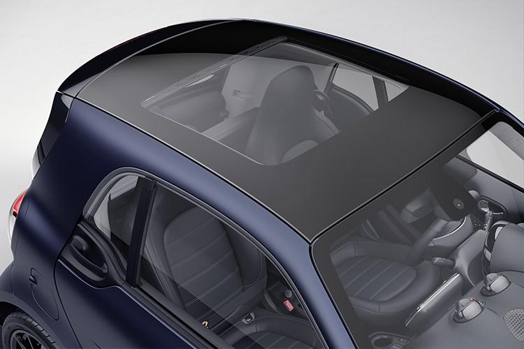 Smart EQ ForTwo Blue Dawn edición especial acabados diseño modelo