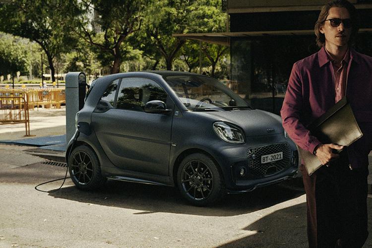 Smart EQ ForTwo Blue Dawn edición especial carrocería diseño tecnología