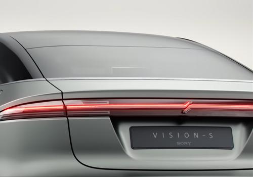 Sony Vision-S vehículo faros, desempeño