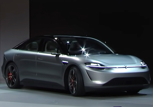 Sony Vision-S vehículo potencia