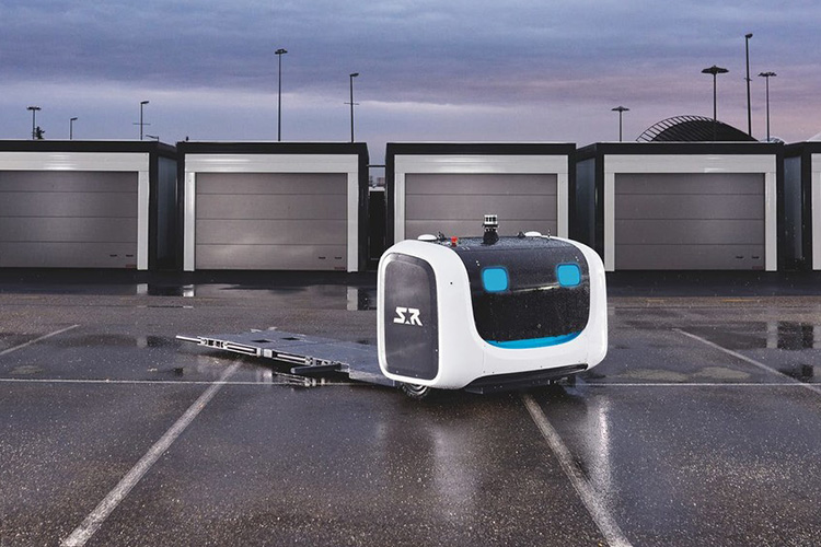 Stan, el nuevo robot en el aeropuerto de londres