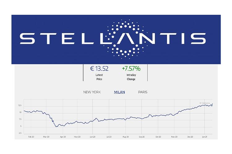 Stellantis ya está en bolsa y crece su valor modelos fusión fca y psa