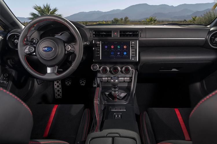 Subaru BRZ sistema de infoentretenimiento