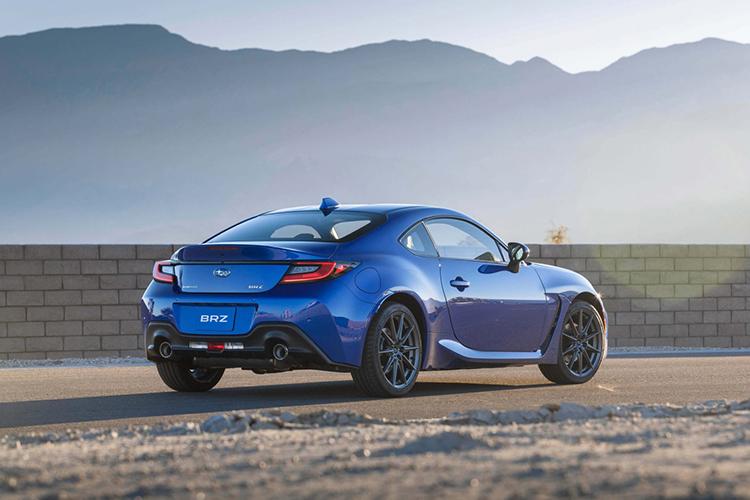 Subaru BRZ totalmente renovado rendimiento