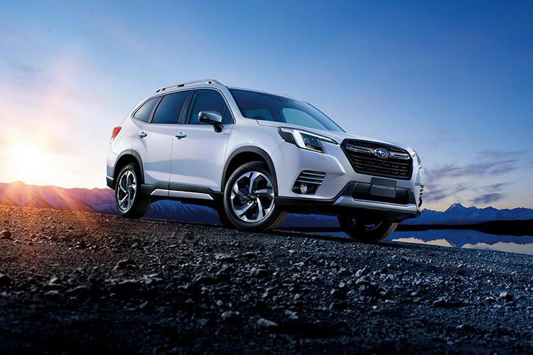 Subaru Forester 2022 rediseñado estrena facelift motor potencia equipamiento carrocería