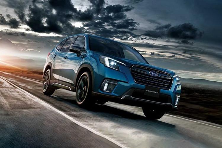 Subaru Forester 2022 rediseñado estrena facelift variantes equipamiento desempeño carrocería