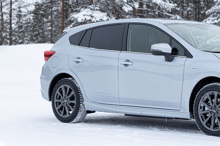 Subaru Impreza parte trasera