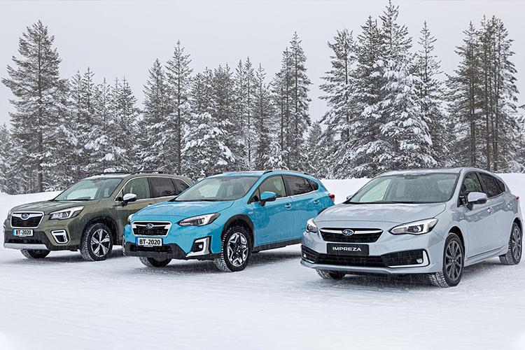 Subaru Impreza vehiculos híbridos