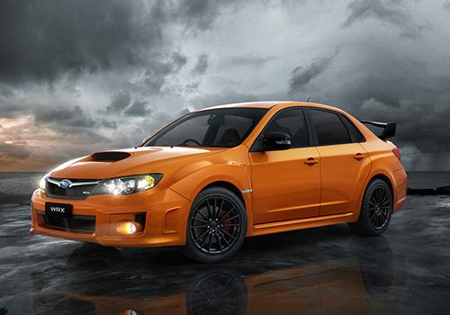 Subaru WRX Club Spec edición especial colores disponibles
