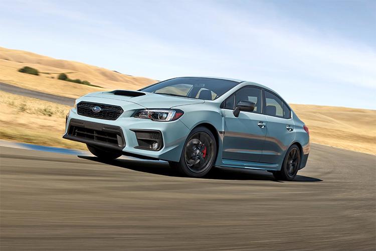 Subaru WRX Club Spec edición especial solo para Australia