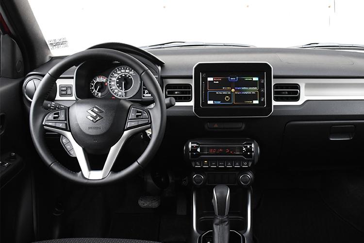 Suzuki Ignis 2021 sistema de infoentretenimiento