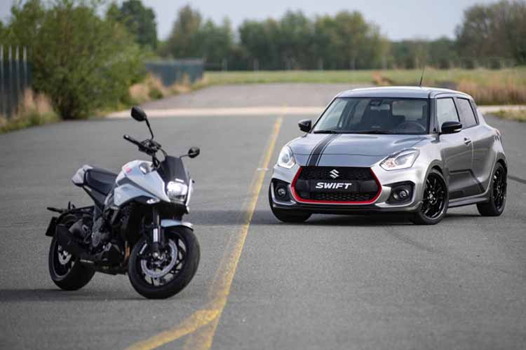 Suzuki Swift Sport Katana edicion especial para mercado holandes