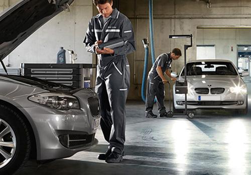 TSARAVision taller BMW con especialistas y mecánicos