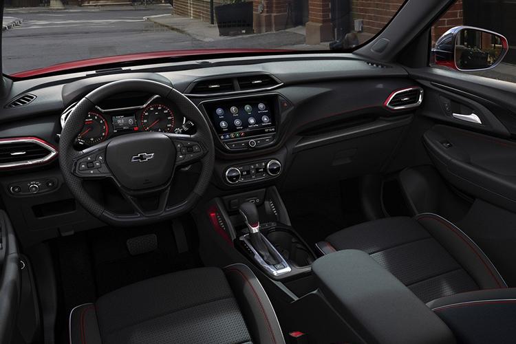 Tablero disponible en Chevrolet Trailblazer 2021