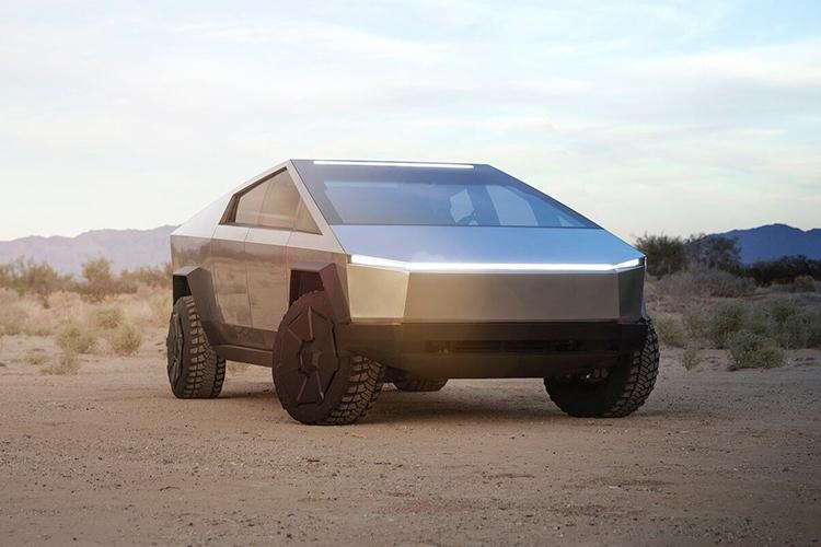 Tesla Cybertruck con nueva versión disponible pick-up carrocería