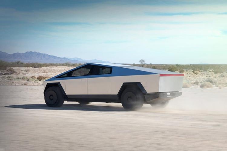 Tesla Cybertruck con nueva versión disponible tamaño