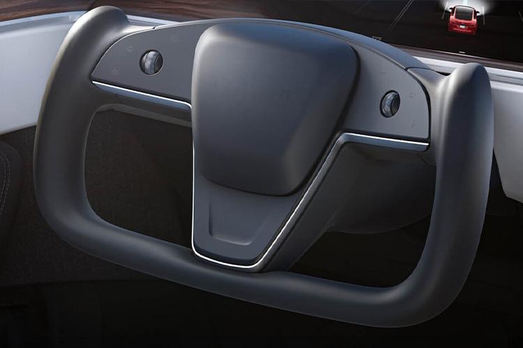 Tesla Model S añade nuevo timón y tecnologías de conducción carrocería motor tecnología innovaciones