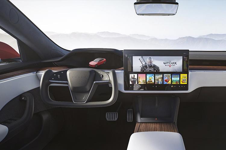 Tesla Model S añade nuevo timón y tecnologías de conducción tecnología innovaciones