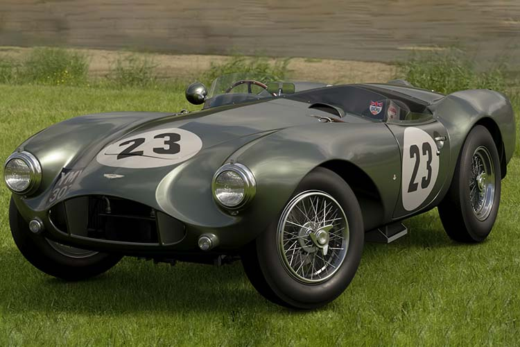 he David Brown Era, DB3S 50s Aston Martin Vantage Heritage