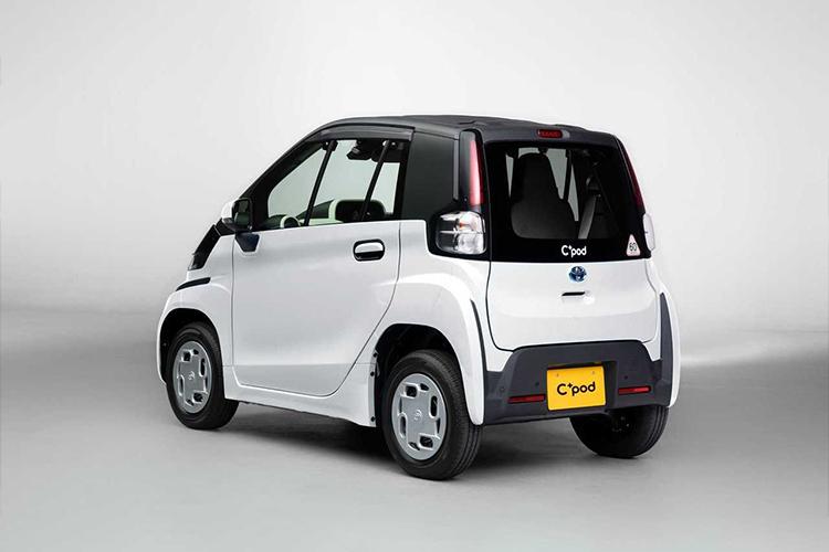 Toyota C+Pod, el próximo totalmente eléctrico dos versiones disponibles