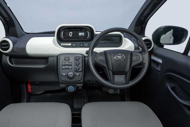 Toyota C+Pod, el próximo totalmente eléctrico - interior