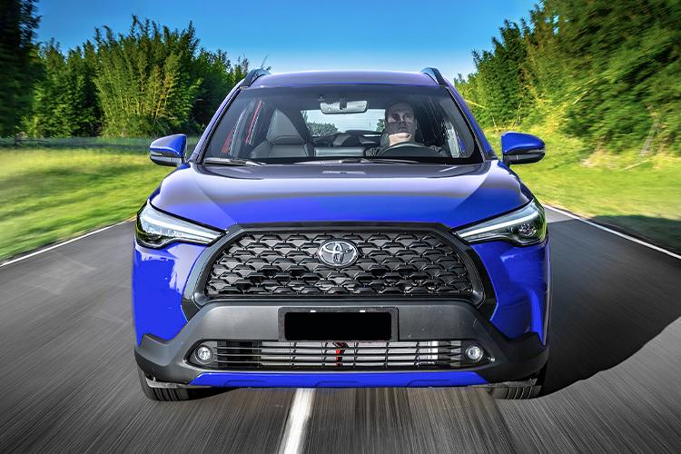 Toyota Corolla Cross carrocería SUV diseño tecnología