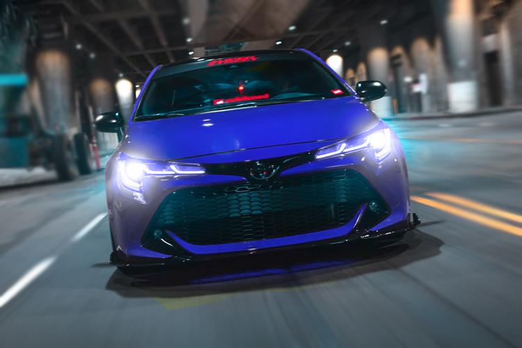 Toyota GR Corolla con potencia de 300 hp acabados tecnología