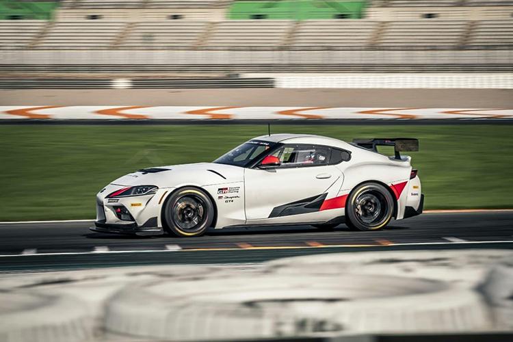 Toyota GR Supra GT4 Tecnología