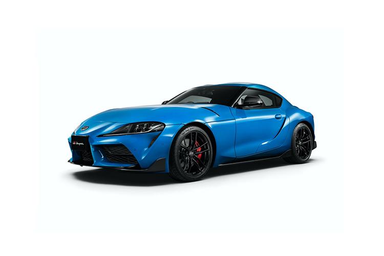 Toyota GR Supra RZ Horizon Blue Edition solo 100 unidades